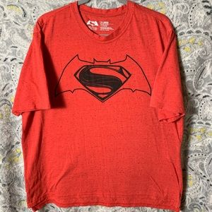 WARNER BROS Men's XLarge Red Tee